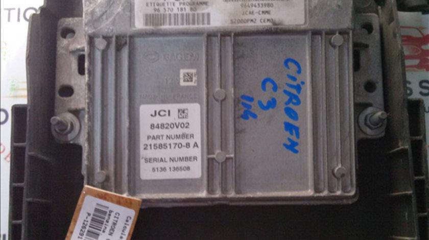 Calculator motor CITROEN C 3 2004>2009