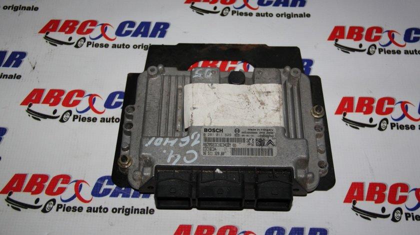 Calculator motor Citroen C4 1.6 HDI cod: 9651132880 / 0281011629 model 2006