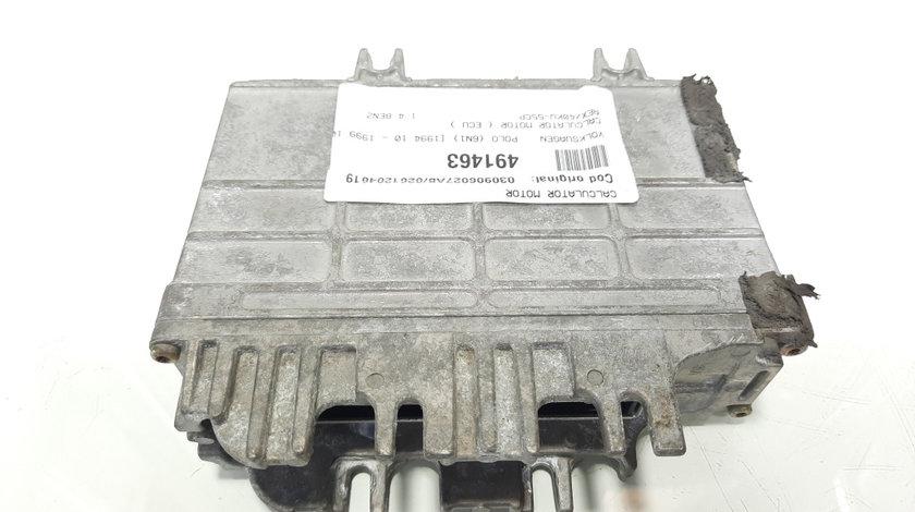 Calculator motor, cod 030906027AB, 0261204619, VW Golf 3, 1.4 benz, AEX (idi:491463)