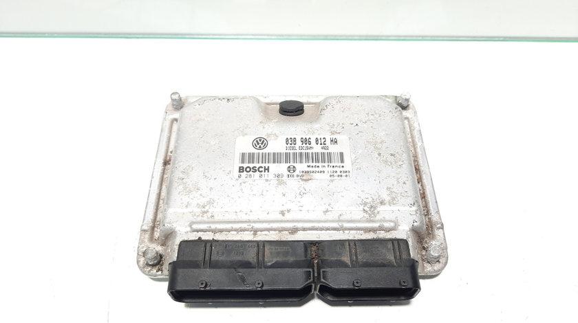 Calculator motor, cod 038906012HA, Skoda Octavia 1 (1U2) 1.9 tdi, ALH