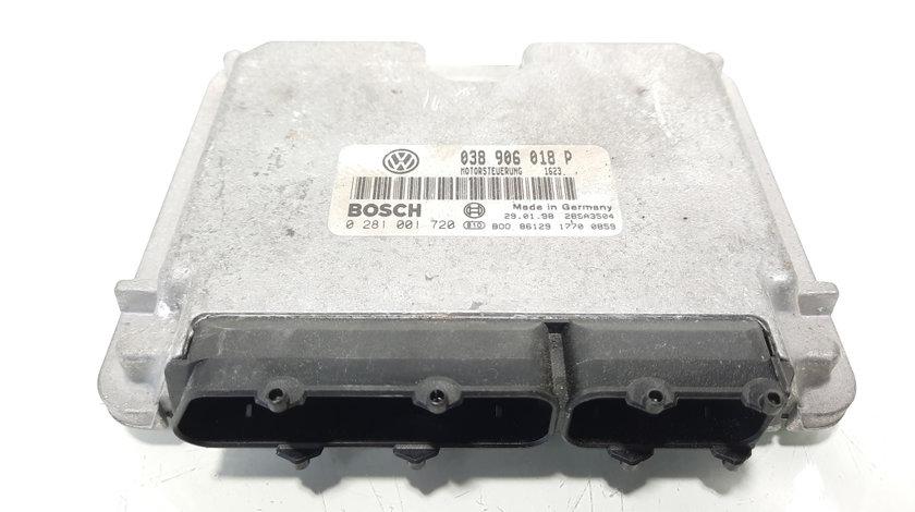 Calculator motor, cod 038906018P, 0281001720, VW Golf 3, 1.9 TDI, AFN (idi:491845)
