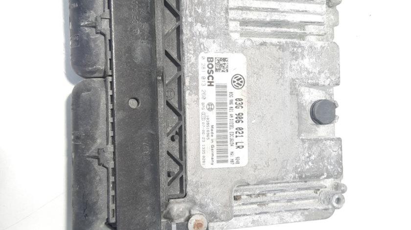 Calculator motor, cod 03G906021LR, 0281013260, VW Golf 5 Plus (5M1), 1.9 TDI, BXE (idi:495798)
