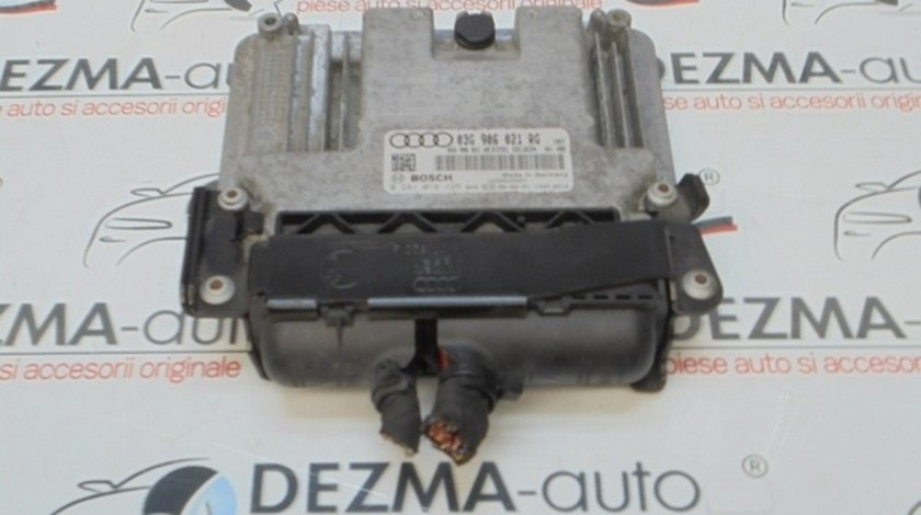 Calculator motor, cod 03G906021RG, 0281014125, Seat Altea XL (5P5, 5P8) 1.9 tdi, BLS