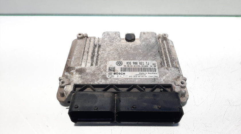 Calculator motor, cod 03G906021TJ, Skoda Superb II (3T4) 1.9 TDI, BLS