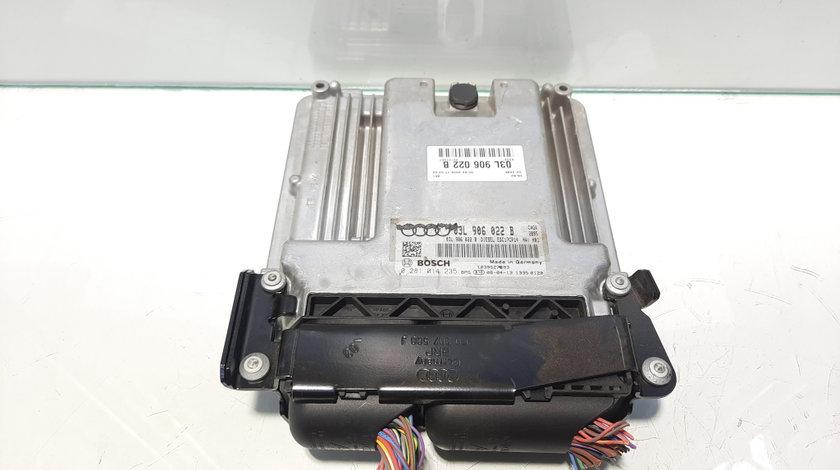 Calculator motor, cod 03L906022B, 0281014235, Audi A4 Avant (8K5, B8) 2.0 tdi, CAG