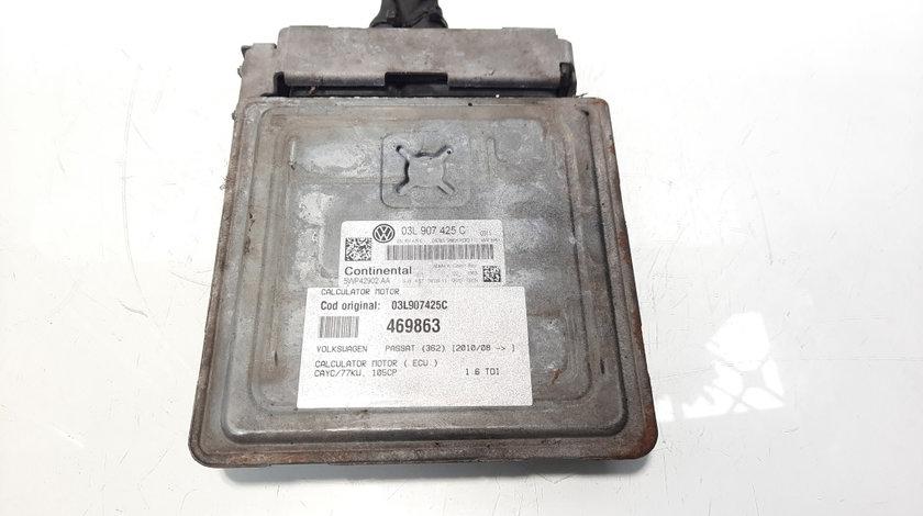 Calculator motor, cod 03L907425C, VW Passat (362) 1.6 tdi, CAYC (id:469863)