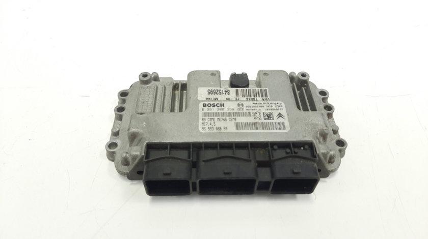 Calculator motor, cod 9659306580, 0261208558, Peugeot 307, 1.6 hdi, 9HZ (id:483755)