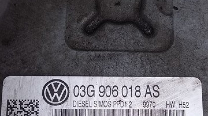 Calculator motor continental vw passat b6 2.0 tdi bmr 170 cai cod 03g906018as