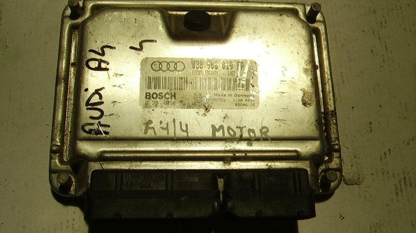 Calculator motor cu cip Audi A4 1.9tdi; Bosch 0 281 010 729