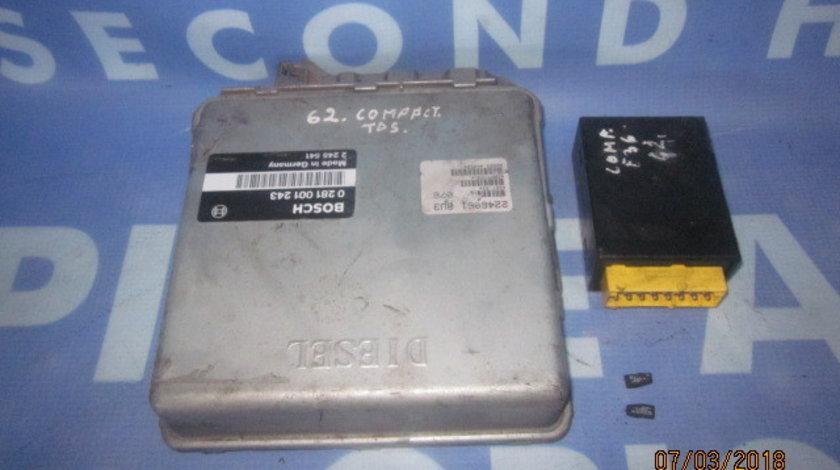 Calculator motor cu cip BMW E36 318tds; 0281001243
