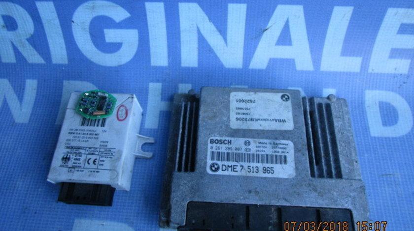 Calculator motor cu cip BMW E46 316i; Bosch 0 261 209 007