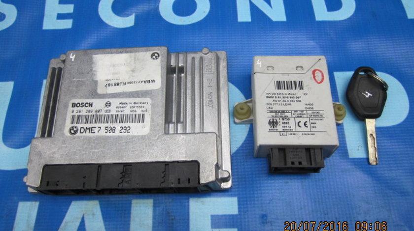 Calculator motor cu cip BMW E46 318i; Bosch 0 261 209 007