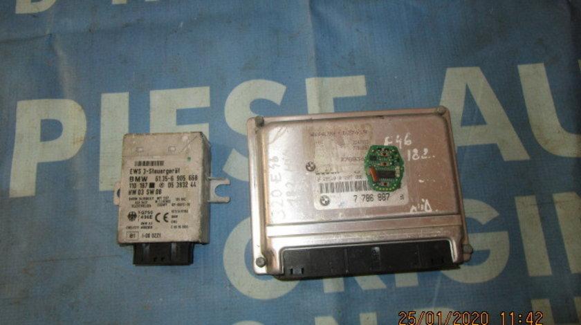Calculator motor cu cip BMW E46 320d 2.0d M47 2001;  7788365