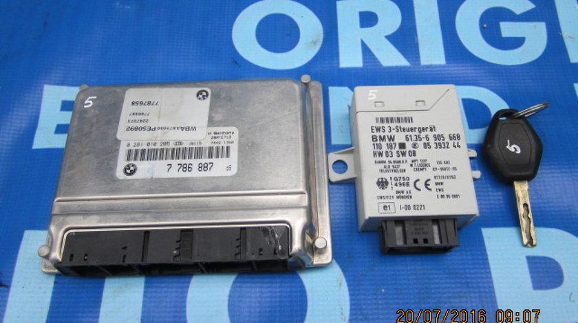 Calculator motor cu cip BMW E46 320d;  Bosch 0 281 010 205
