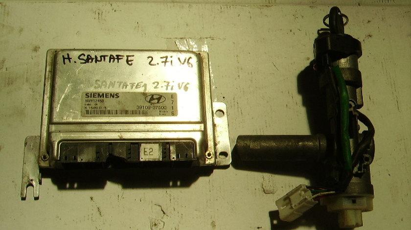 Calculator motor cu cip Hyundai Santa Fe 2.7i v6; Siemens 5WY1245D  39108-37500