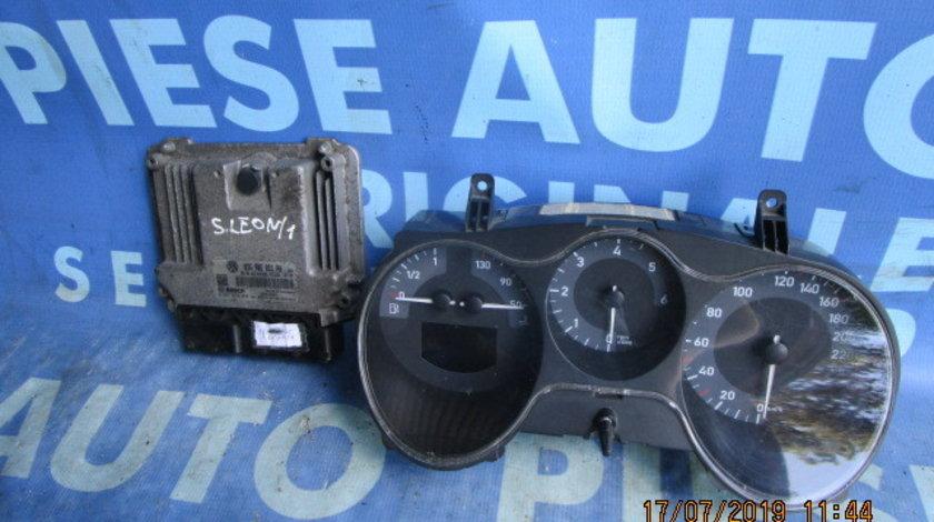Calculator motor cu cip Seat Leon 2 1.9tdi;  03G906021PA