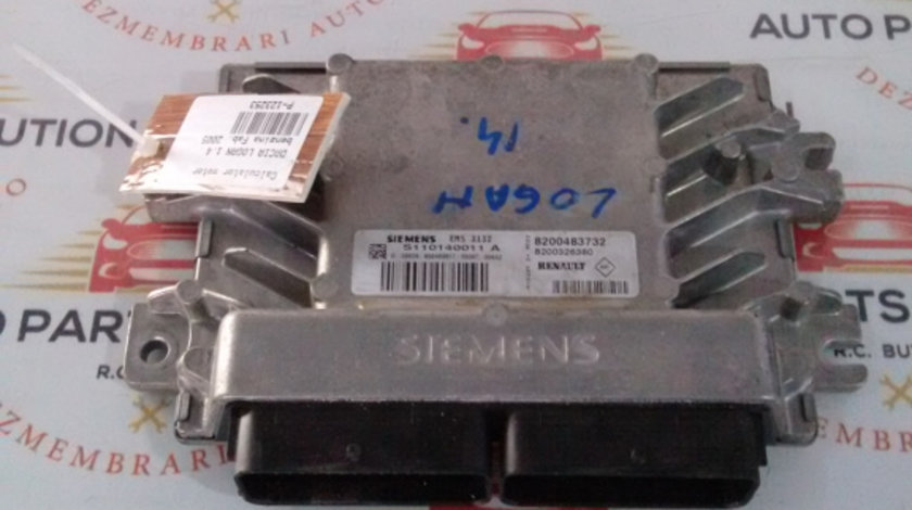 Calculator motor Dacia LOGAN 2005-2010