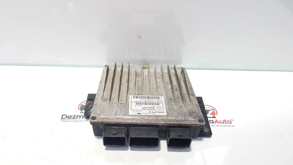 Calculator motor, Dacia Logan MCV (KS) 1.5 dci, K9K792, cod 8200513058, 8200603070 (id:335123)