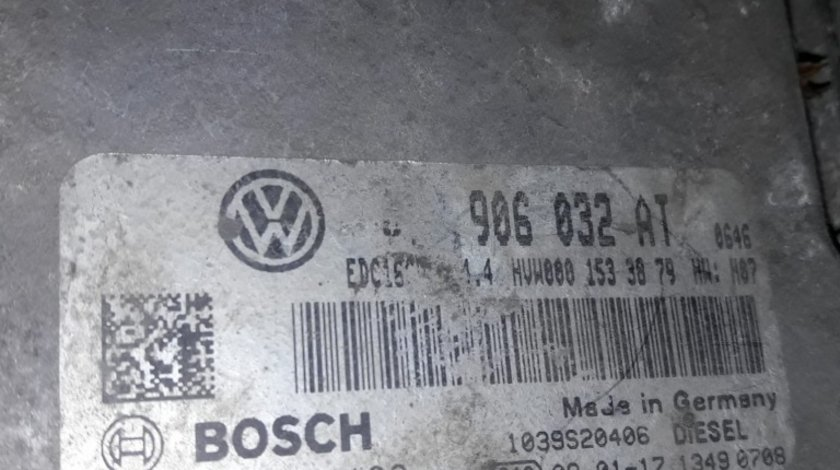 Calculator motor ecu 074906032AT vw crafter 2.5tdi 109cp bjk chit kit pornire