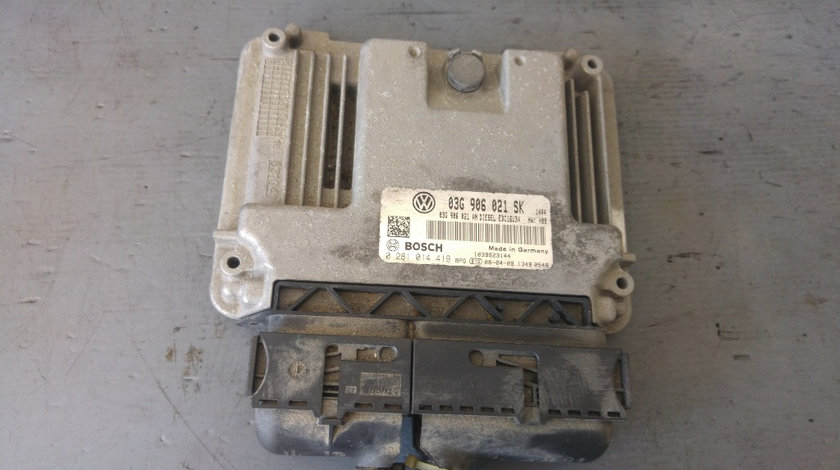 Calculator motor ecu 1.9 tdi bxe seat altea 5p 03g906021sk 0281014419