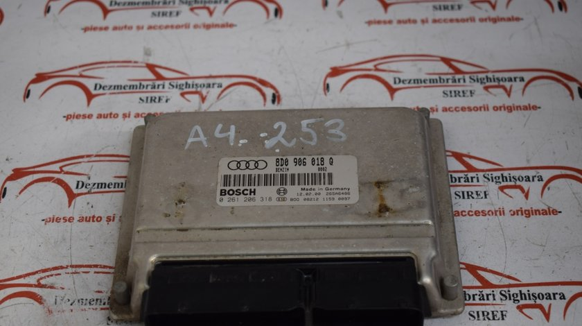 Calculator motor Ecu Audi A4 1.8 B 8D0906018Q 253