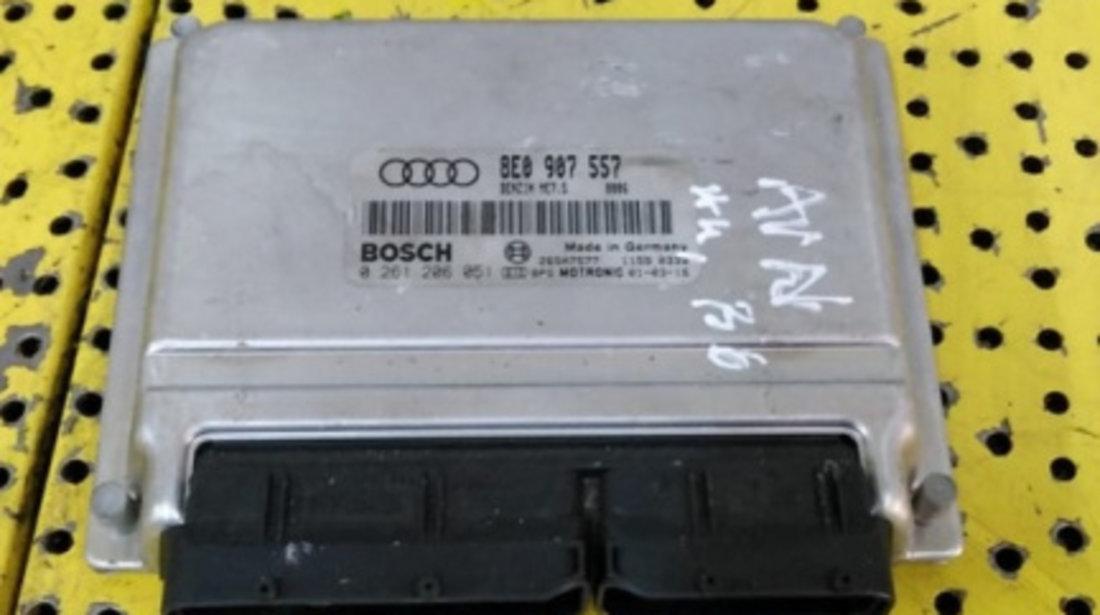 Calculator Motor (ECU) Audi A4 B6 (8E) - (2000-2005) 2.0I 8E0907557 0261206051