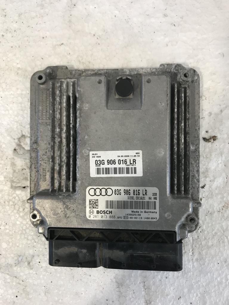 Calculator motor (ECU) audi a4 b7 2.0 tdi cod: 03g906016LR