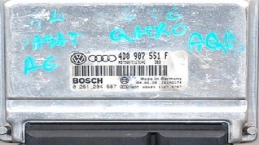 Calculator Motor (ECU)Audi A6 0261204687 / 4D0907551F 2.8 I