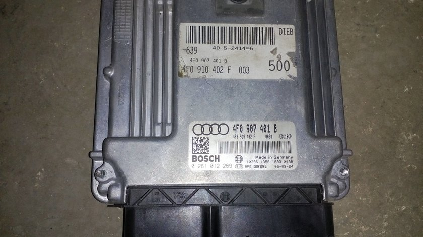 Calculator motor / ECU Audi A6 4F 3.0 TDI - 4F0 907 401 B