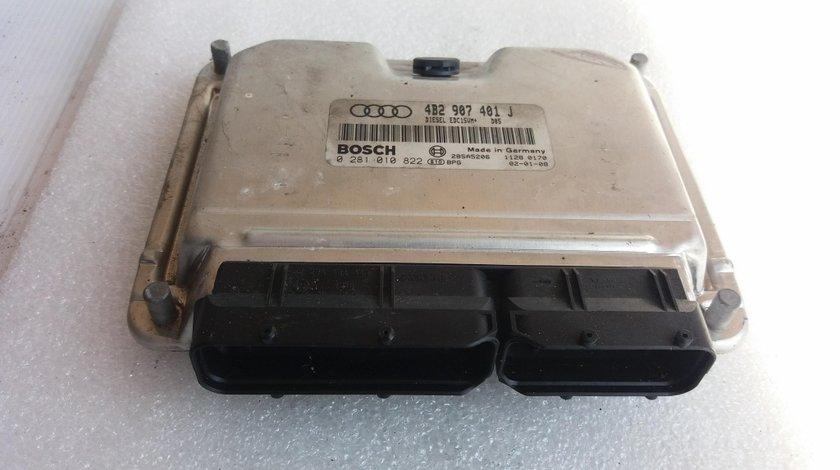 Calculator motor ecu audi a6 c5 2.5 tdi 1997-2005 4b2907401j