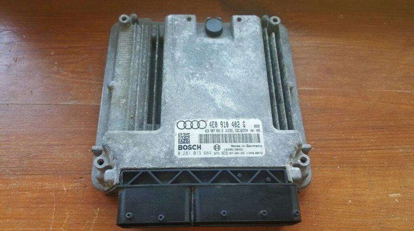 Calculator motor(ecu) audi a8 4e 3.0 tdi asb cod 4e0910402g edc16cp34