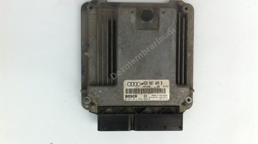 Calculator motor ECU AUDI A8 D3 4E 3.0 tdi ASB / BMK an 2003 - 2010 cod 4E0907409B