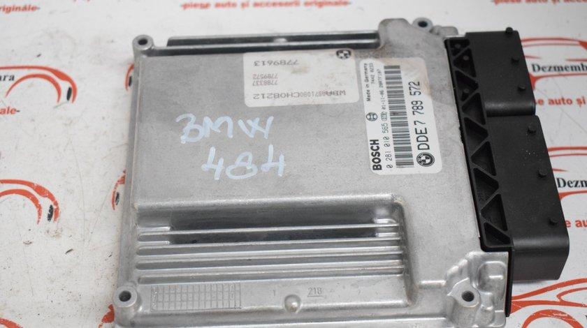 Calculator motor ECU BMW E46 320 150 CP DDE7789572 484