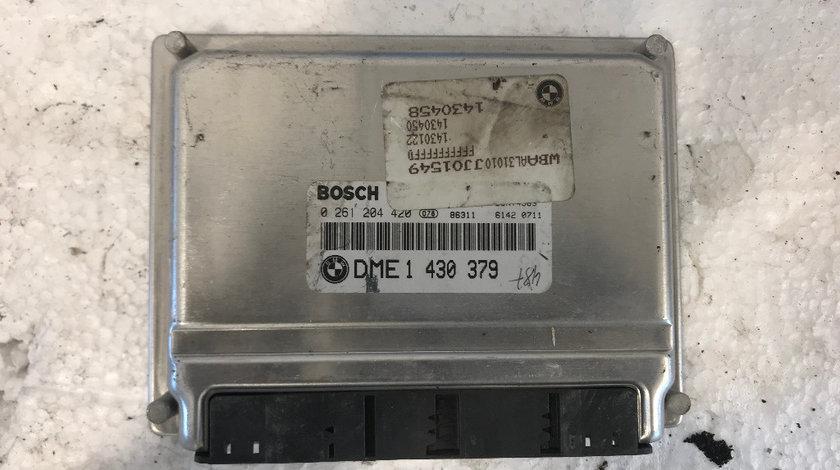 Calculator motor (ECU) bmw seria 3 e46 1.8b, 1.9b DME1998 - 2004 cod: 0261204420