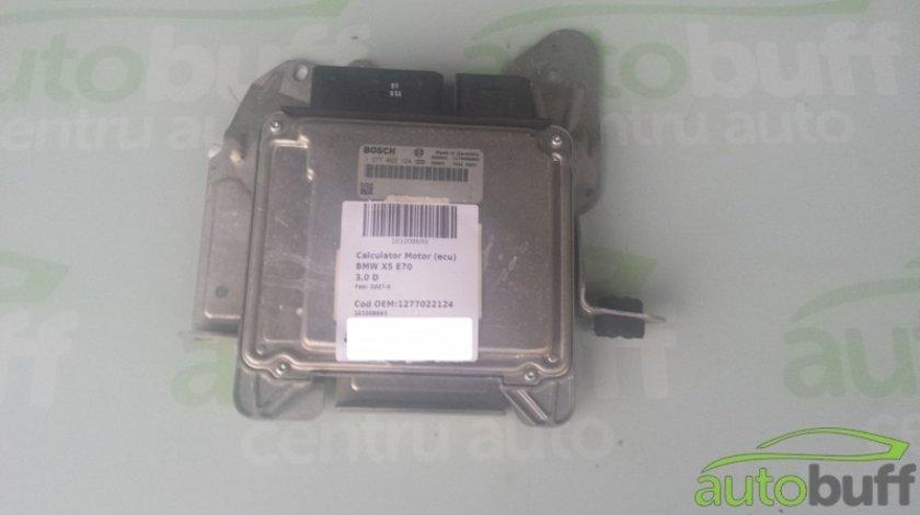 Calculator Motor (ECU)BMW X5 E70 1277022124 3.0 D