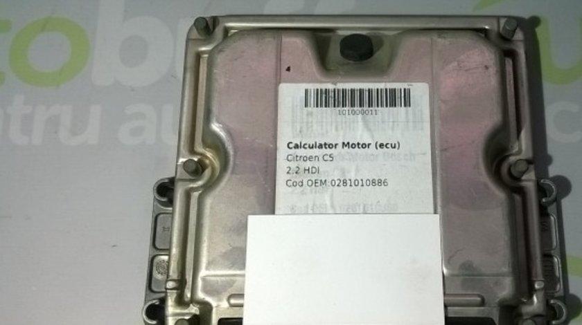 Calculator Motor (ECU) Citroen C5 2.2 HDI 2003-2003