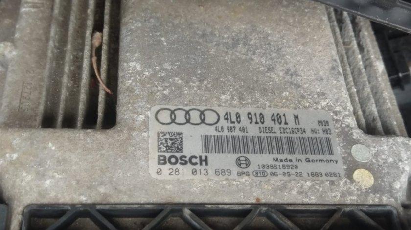 Calculator motor ecu cod 4L0910401M Audi Q7 4l motor 3.0tdi 233 BUG chit kit pornire