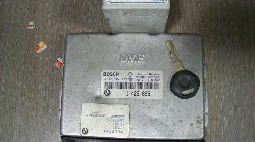 calculator motor ecu cu cip si ews bmw e36 316i 318i 1997-1998