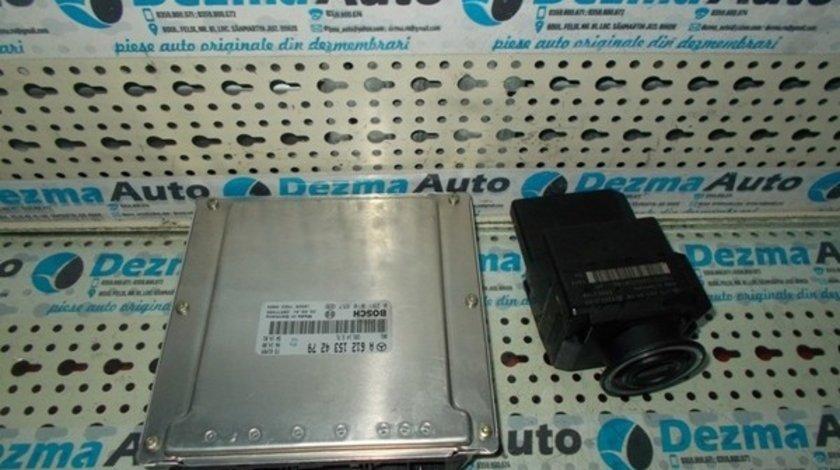 Calculator motor (ECU) Mercedes clasa C, 2.7cdi, A6121534279, 0281010857