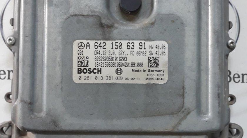 Calculator motor ECU Mercedes ML W164, COD A6421506391