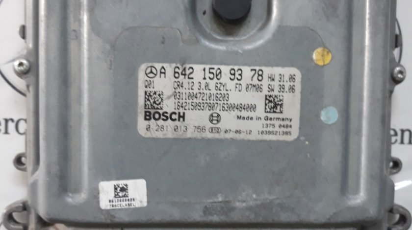Calculator Motor ECU Mercedes ML W164 COD A6421509378