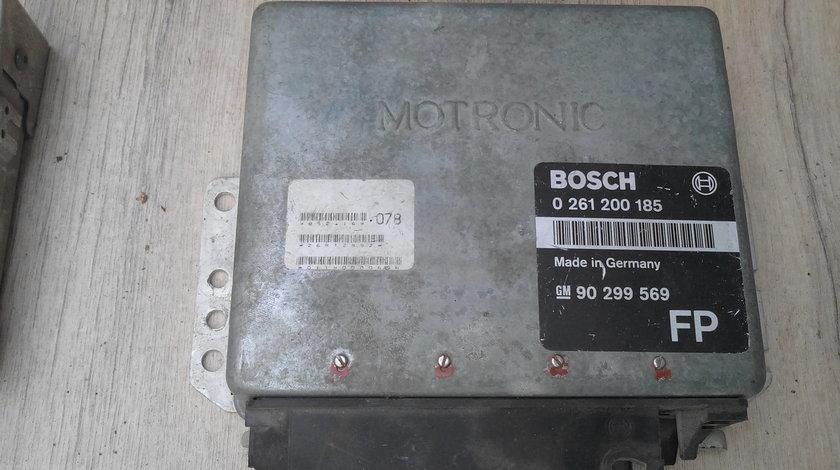 Calculator motor ecu opel astra f kadett 0261200185 / 90299569