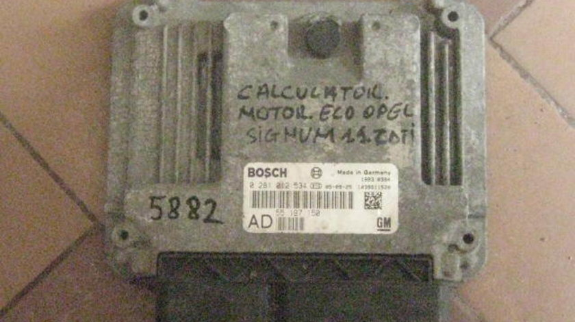 Calculator motor ecu opel signum