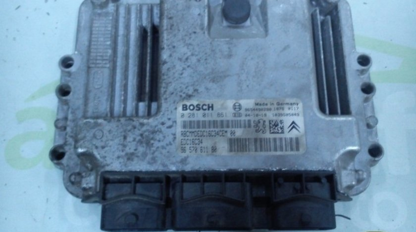 Calculator Motor (ECU) Peugeot 206 1.4 HDI