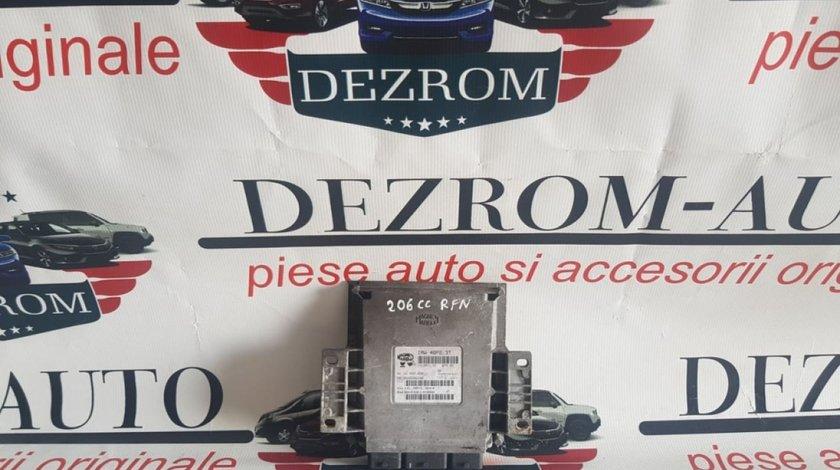 Calculator motor Ecu Peugeot 206 2.0 9642606280