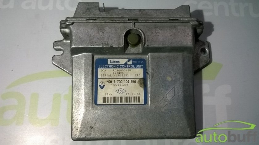 Calculator Motor (ECU)Renault Kangoo HOM 7700104956 1.9 D