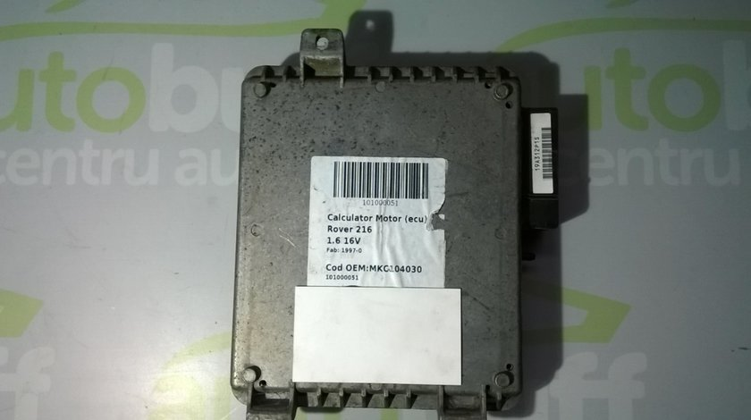 Calculator Motor ECU Rover 216 1.6 16V