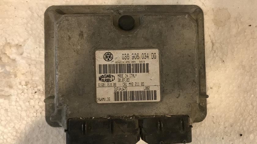 Calculator motor ( ECU ) seat ibiza 1.4b 2002 - 2009 cod: 036906034dg
