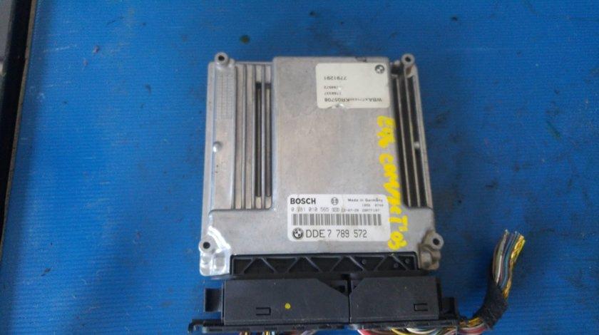Calculator motor ecu seria 3 bmw e46 compact 2.0 d 150 cp 2003 0281010565 7789572