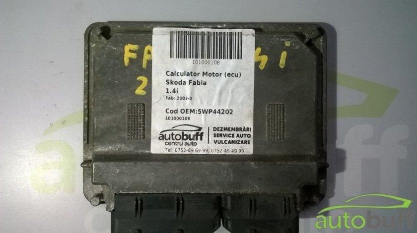 Calculator Motor (ECU)Skoda Fabia 5WP44202 1.4i
